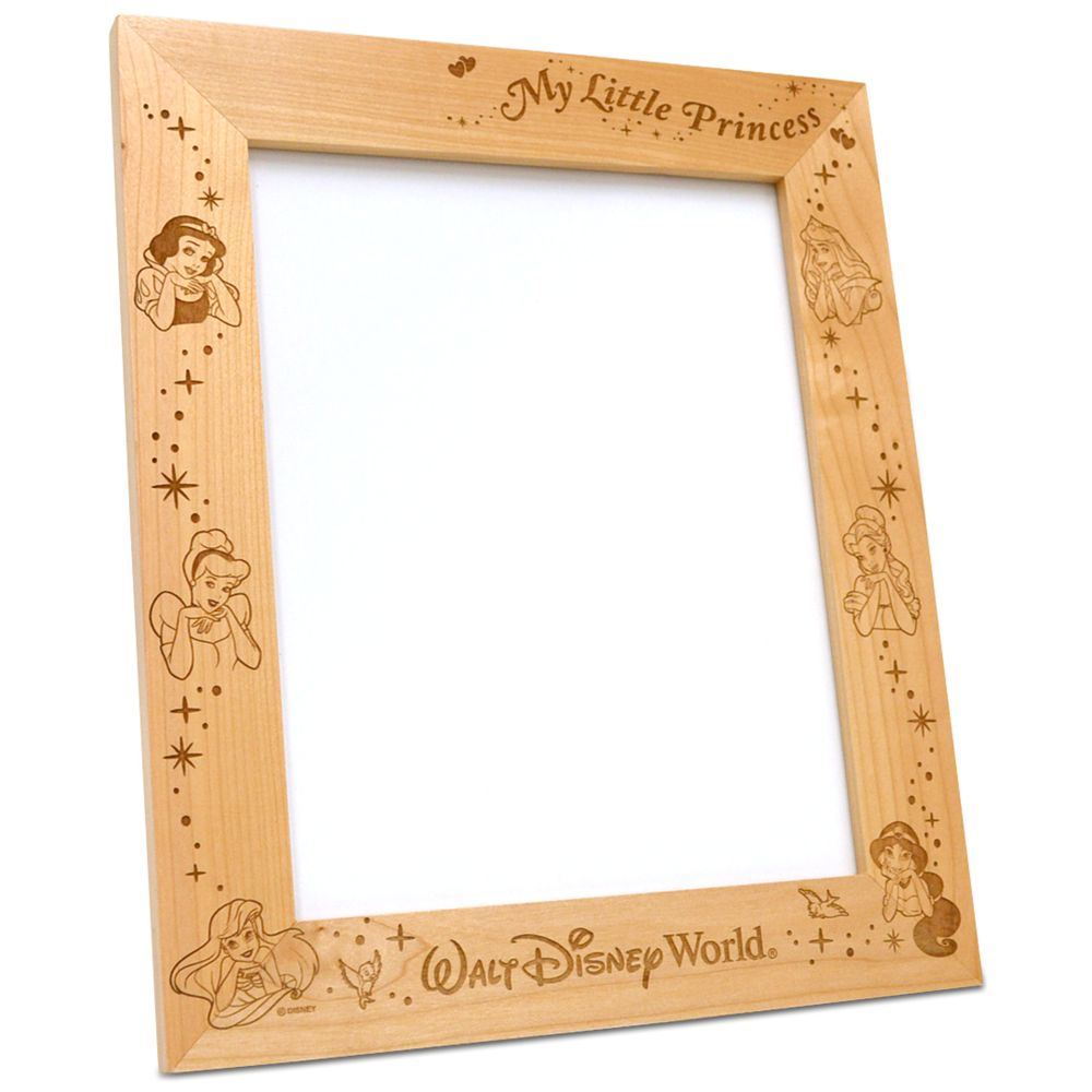 Disney Princess 8'' x 10'' Frame by Arribas – Personalizable