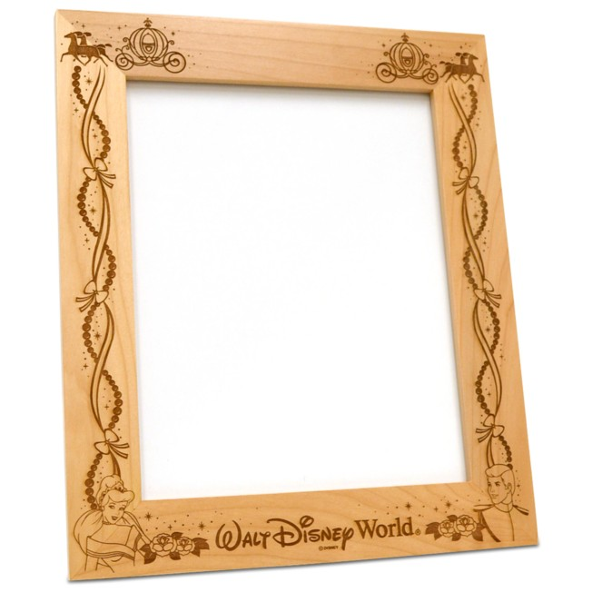 Prince Charming and Cinderella  8'' x 10'' Frame by Arribas – Personalizable