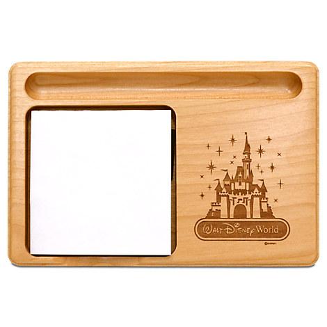 Walt Disney World Cinderella Castle Memo Holder by Arribas - Personalizable