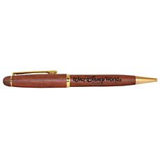 Walt Disney World Rosewood Pen by Arribas - Personalizable