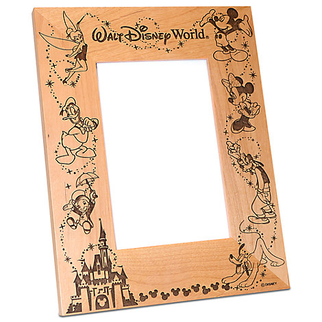 Walt Disney World Cinderella Castle Photo Frame by Arribas - Personalizable