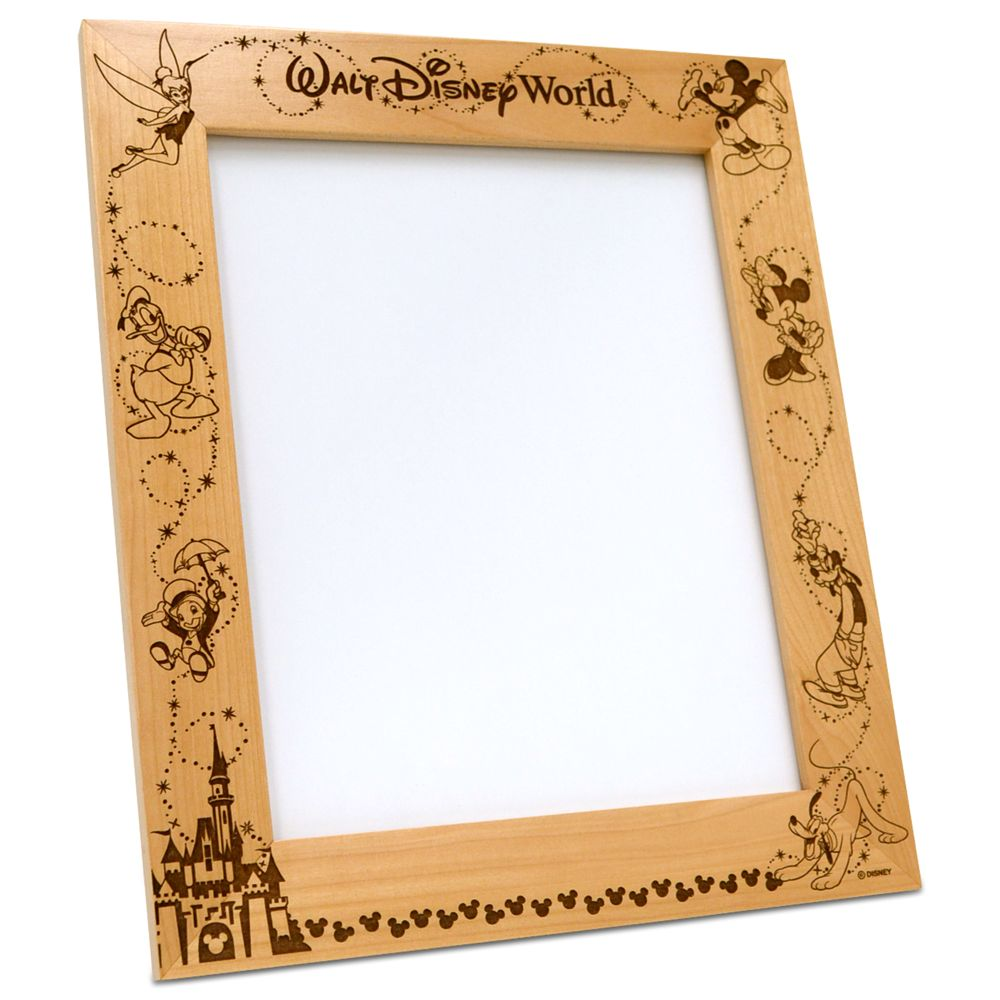 Walt Disney World Frame by Arribas – Personalizable