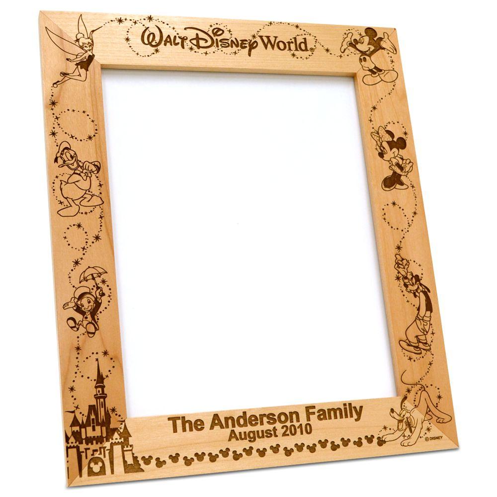 Walt Disney World Frame by Arribas – Personalizable