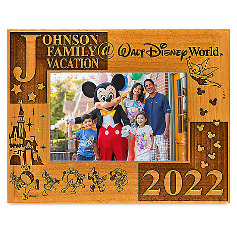 Walt Disney World 2017 Frame by Arribas - 4'' x 6'' - Personalizable