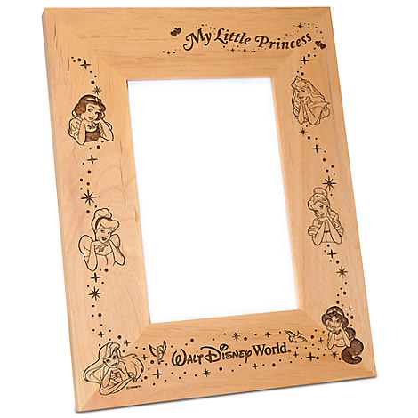 Walt Disney World Disney Princess Photo Frame by Arribas - Personalizable