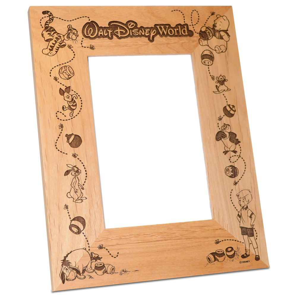Walt Disney World Winnie the Pooh Photo Frame by Arribas – Personalizable