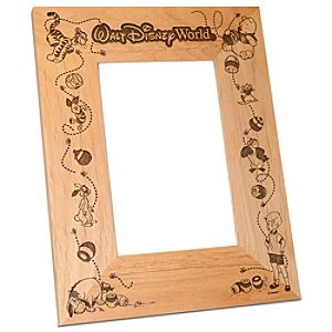 Walt Disney World Winnie the Pooh Photo Frame by Arribas - Personalizable