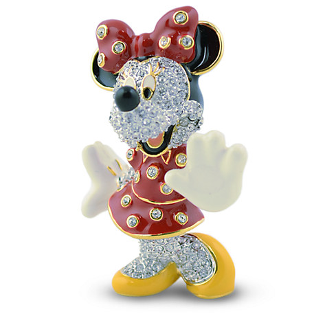 Minnie Mouse Jeweled Figurine by Arribas