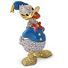 Donald Duck Figurine by Arribas - Jeweled