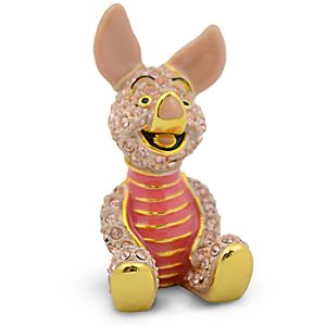 Limited Edition Piglet Jeweled Figurine by Arribas