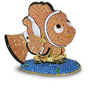 Jeweled Finding Nemo Figurine by Arribas -- Nemo 7409055360309P