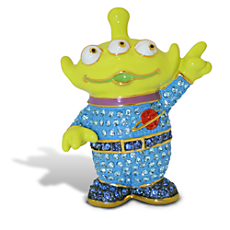 Toy Story Alien Figurine by Arribas - Version 2 - Jeweled