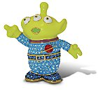 Toy Story Alien Figurine by Arribas - Version 3 - Jeweled