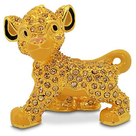 The Lion King Jeweled Figurine by Arribas - Simba