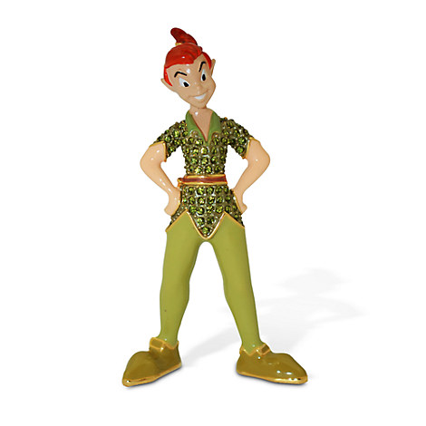 Peter Pan Figurine by Arribas Brothers - Jeweled