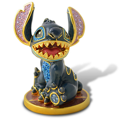 Limited Edition Stitch Jeweled Figurine by Arribas