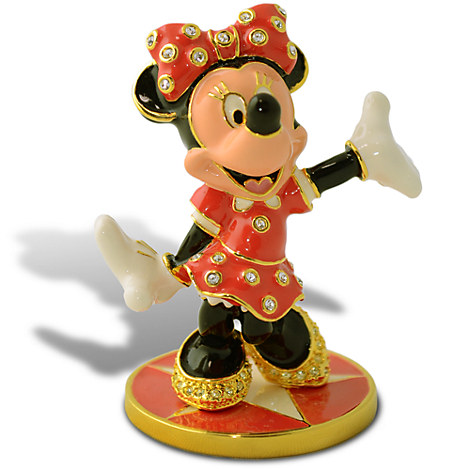 Limited Edition Minnie Mouse Jeweled Figurine by Arribas