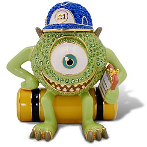Limited Edition Monsters, Inc. Jeweled Figurine by Arribas - Mike Wazowski