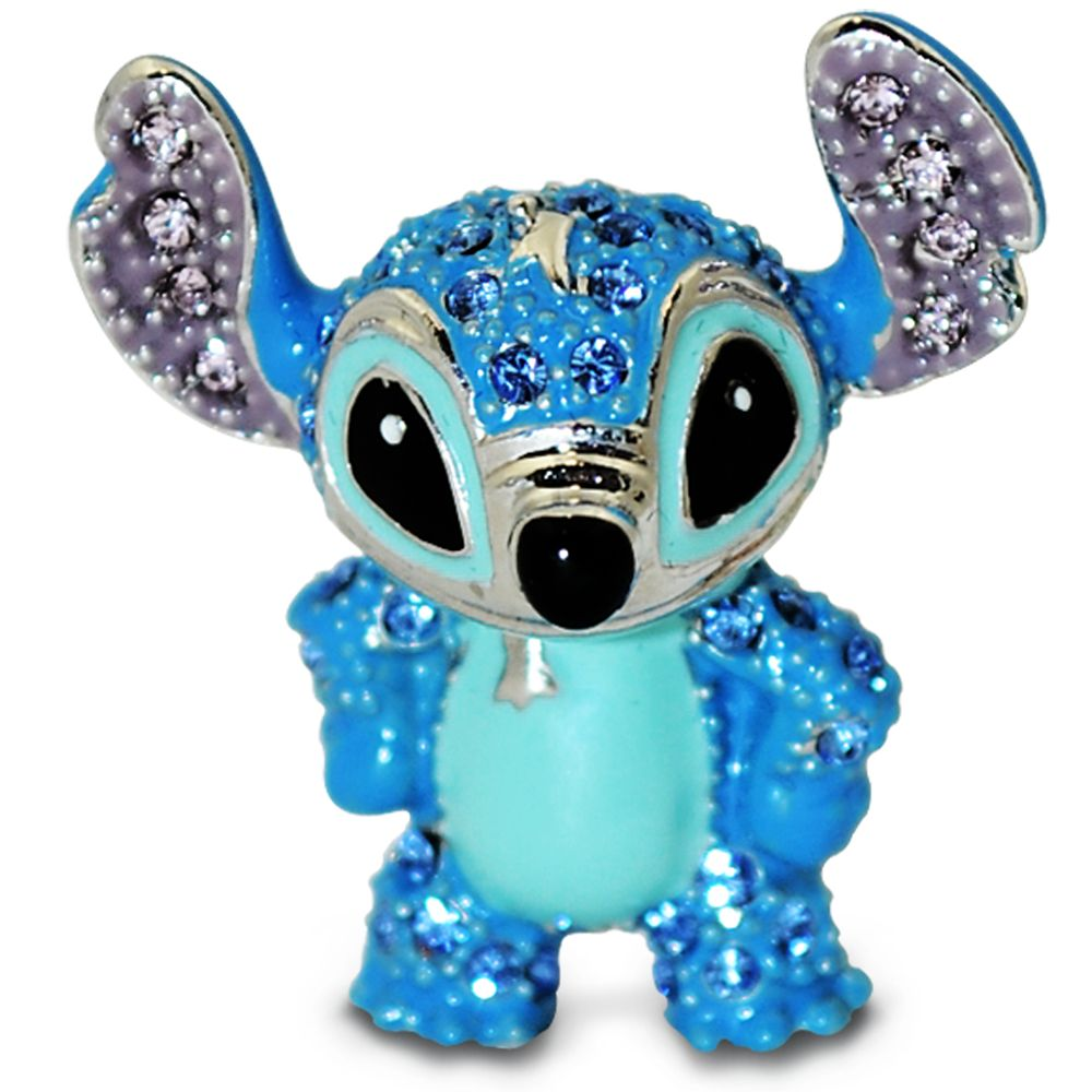Stitch Figurine by Arribas –  Jeweled Mini