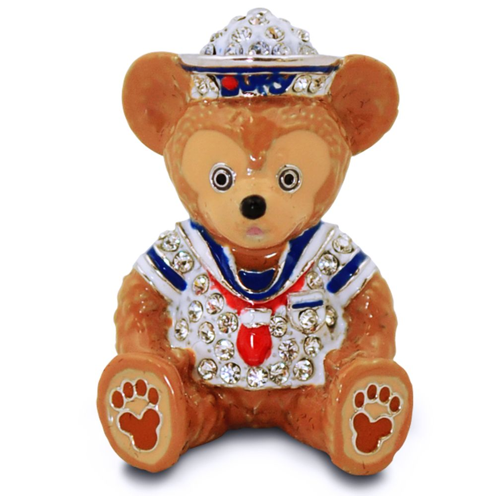 Duffy the Disney Bear Figurine by Arribas – Jeweled Mini