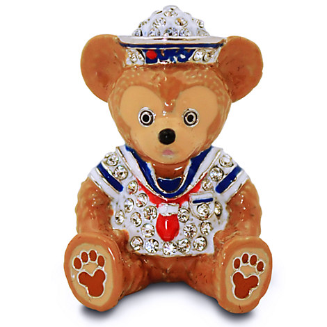 Duffy the Disney Bear Figurine by Arribas - Jeweled Mini
