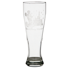 Mickey Mouse Pilsner Glass by Arribas - Personalizable