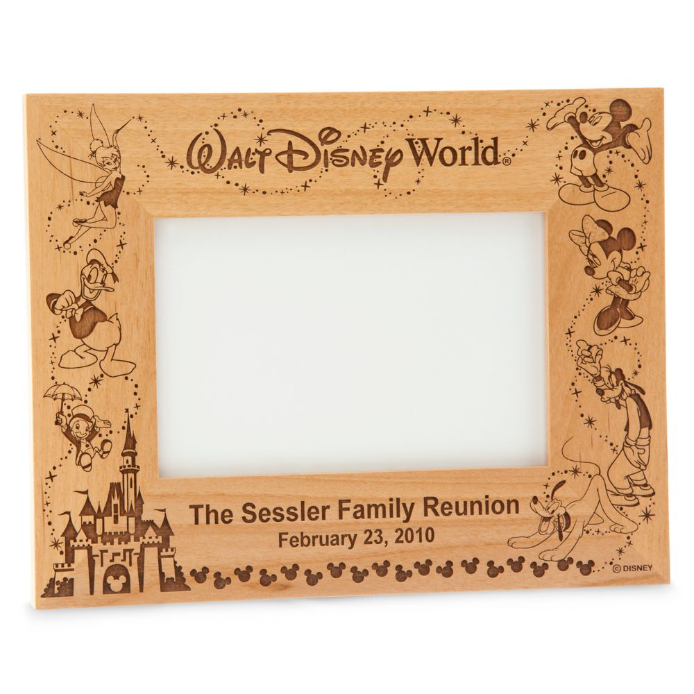 Walt Disney World Cinderella Castle Frame by Arribas – Personalizable