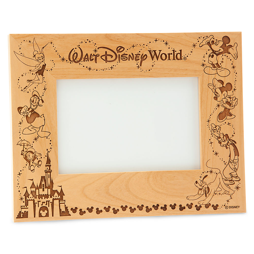 walt disney world cinderella castle frame by arribas personalizable