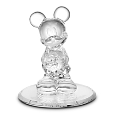 Mickey Mouse Glass Figurine by Arribas