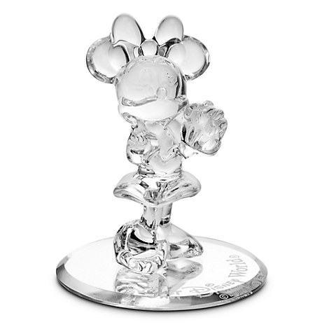 Minnie Mouse Glass Figurine by Arribas