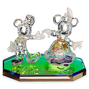 Mickey and Minnie Mouse Dancing Figurine by