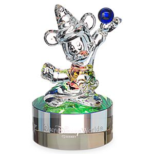 Sorcerer Mickey Mouse Figurine on Base by