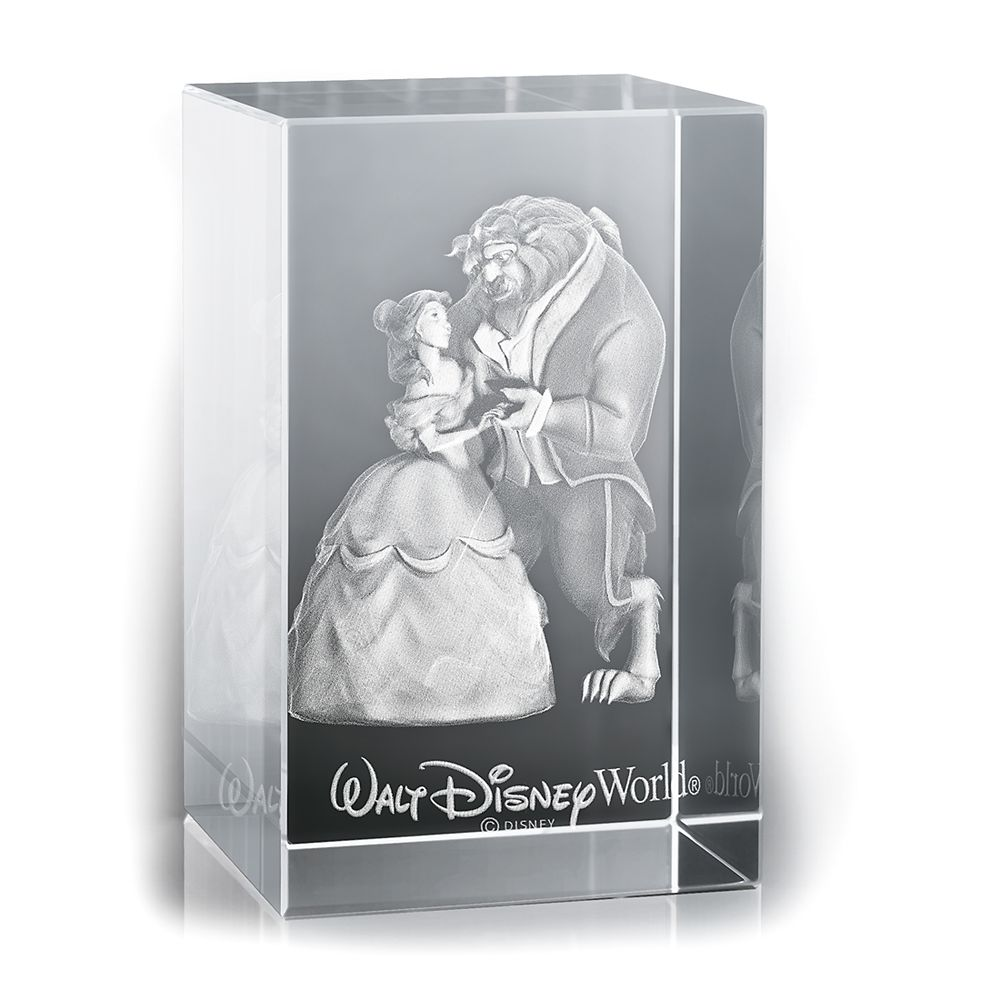 Beauty and the Beast Laser Cube by Arribas  Walt Disney World