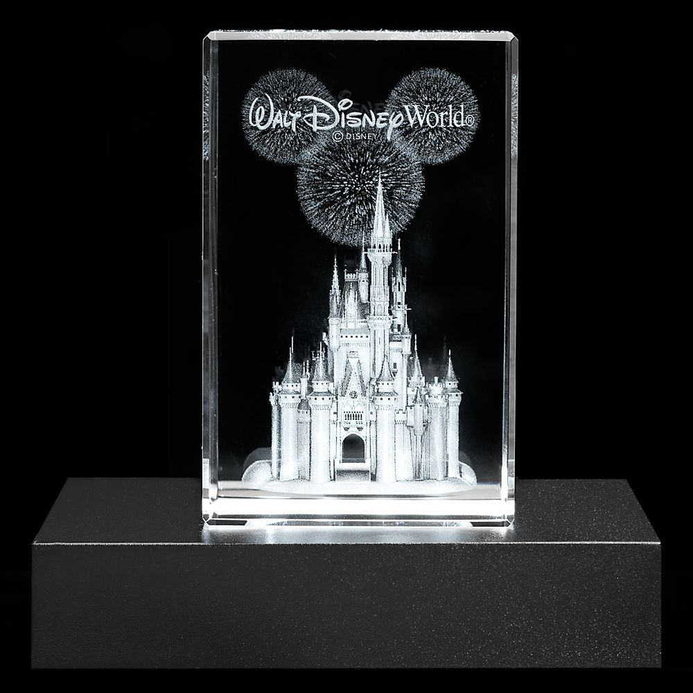 Cinderella Castle Laser Cube by Arribas – Walt Disney World