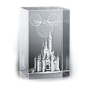 Cinderella Castle Laser Cube by Arribas - Walt Disney World