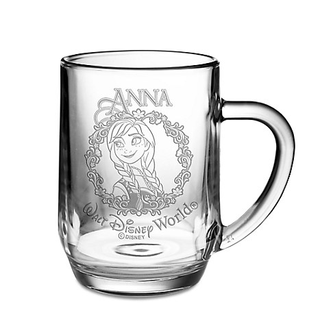 Anna Glass Mug by Arribas - Personalizable