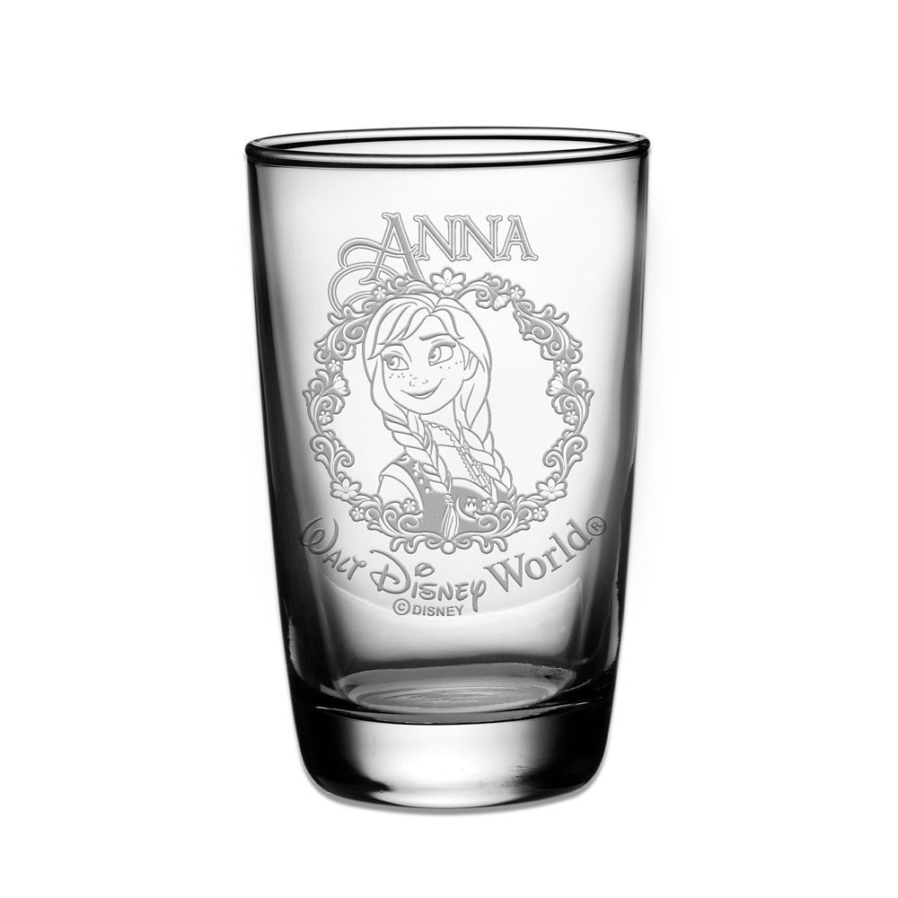 Anna Juice Glass by Arribas  Personalizable Official shopDisney