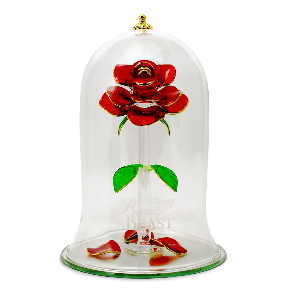 Beauty and the Beast Enchanted Rose by Arribas – Extra Large