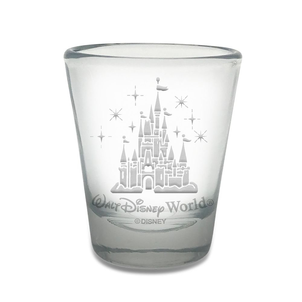 Walt Disney World Castle Mini Glass by Arribas – Personalizable