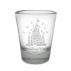 Walt Disney World Castle Mini Glass by Arribas - Personalizable