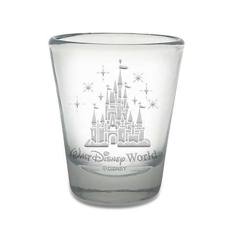 Walt Disney World Castle Mini Glass by Arribas - Personalizable