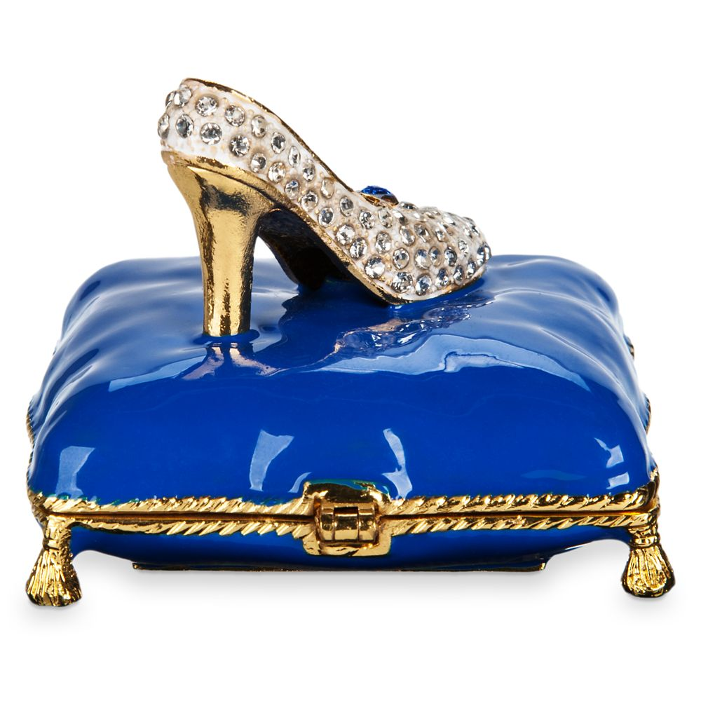 Cinderella Slipper Trinket Box by Arribas Brothers