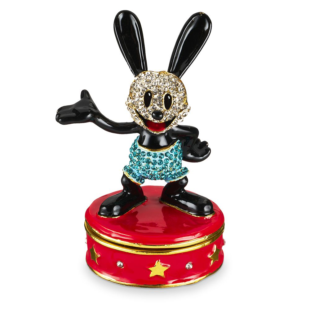 Oswald the Lucky Rabbit Trinket Box by Arribas Brothers