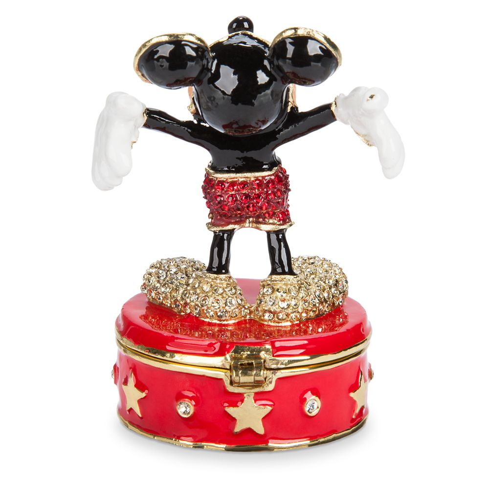 Mickey Mouse Trinket Box by Arribas Brothers
