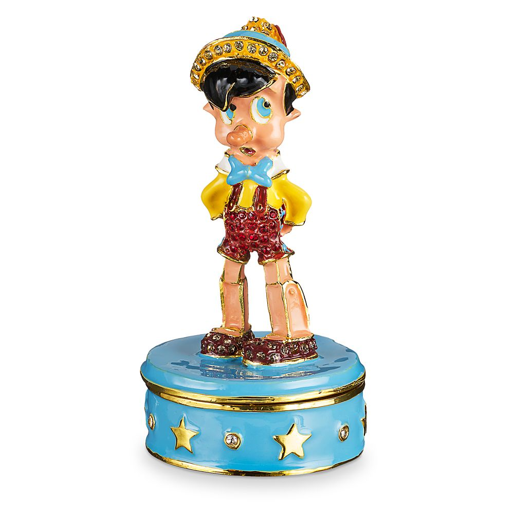 Pinocchio Trinket Box by Arribas Brothers