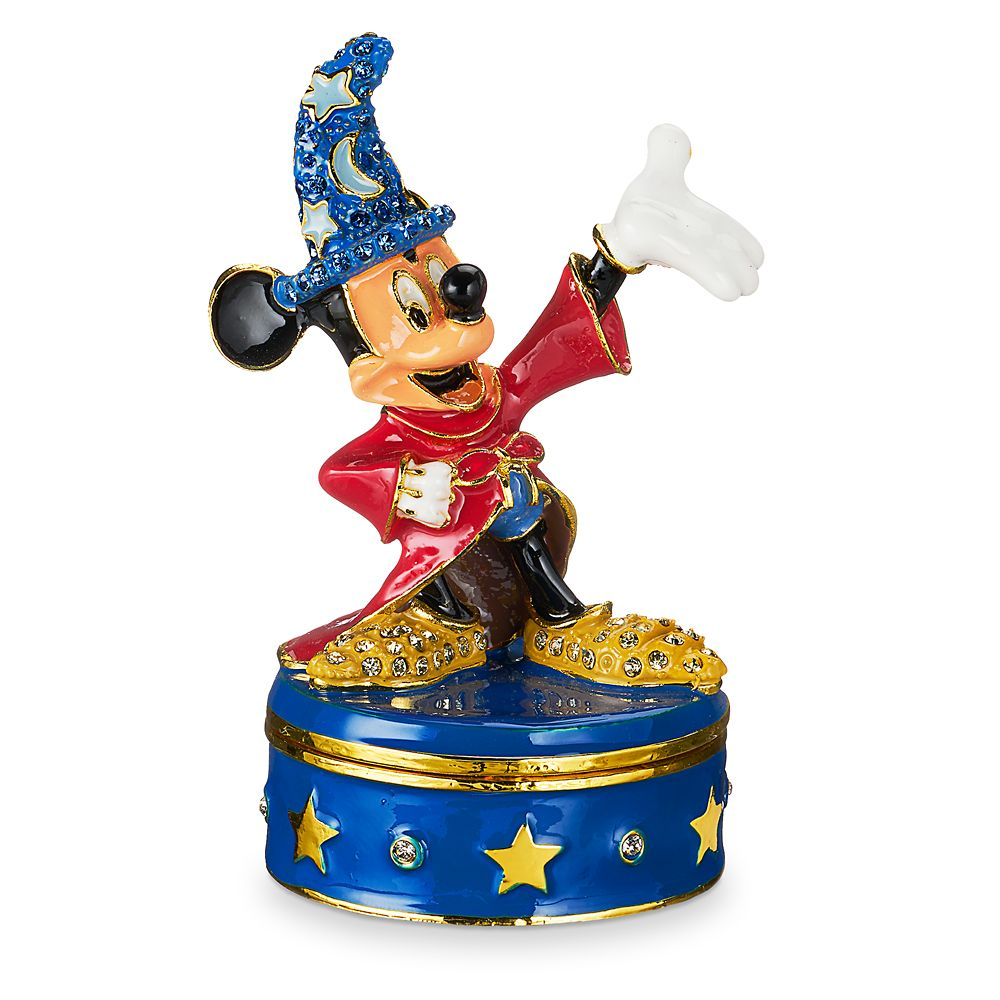 Sorcerer Mickey Mouse Trinket Box by Arribas Brothers Official shopDisney