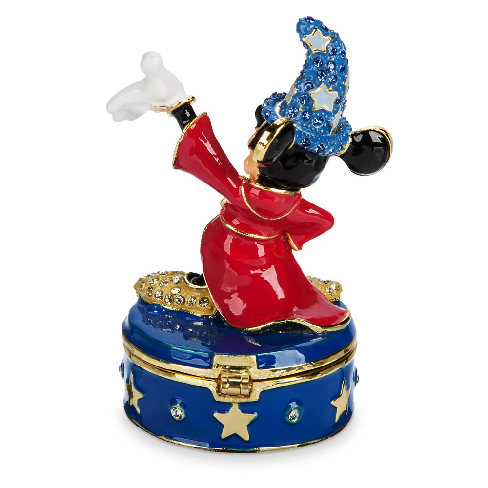 Sorcerer Mickey Mouse Trinket Box by Arribas Brothers