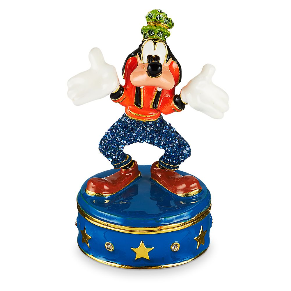 Goofy Trinket Box by Arribas Brothers