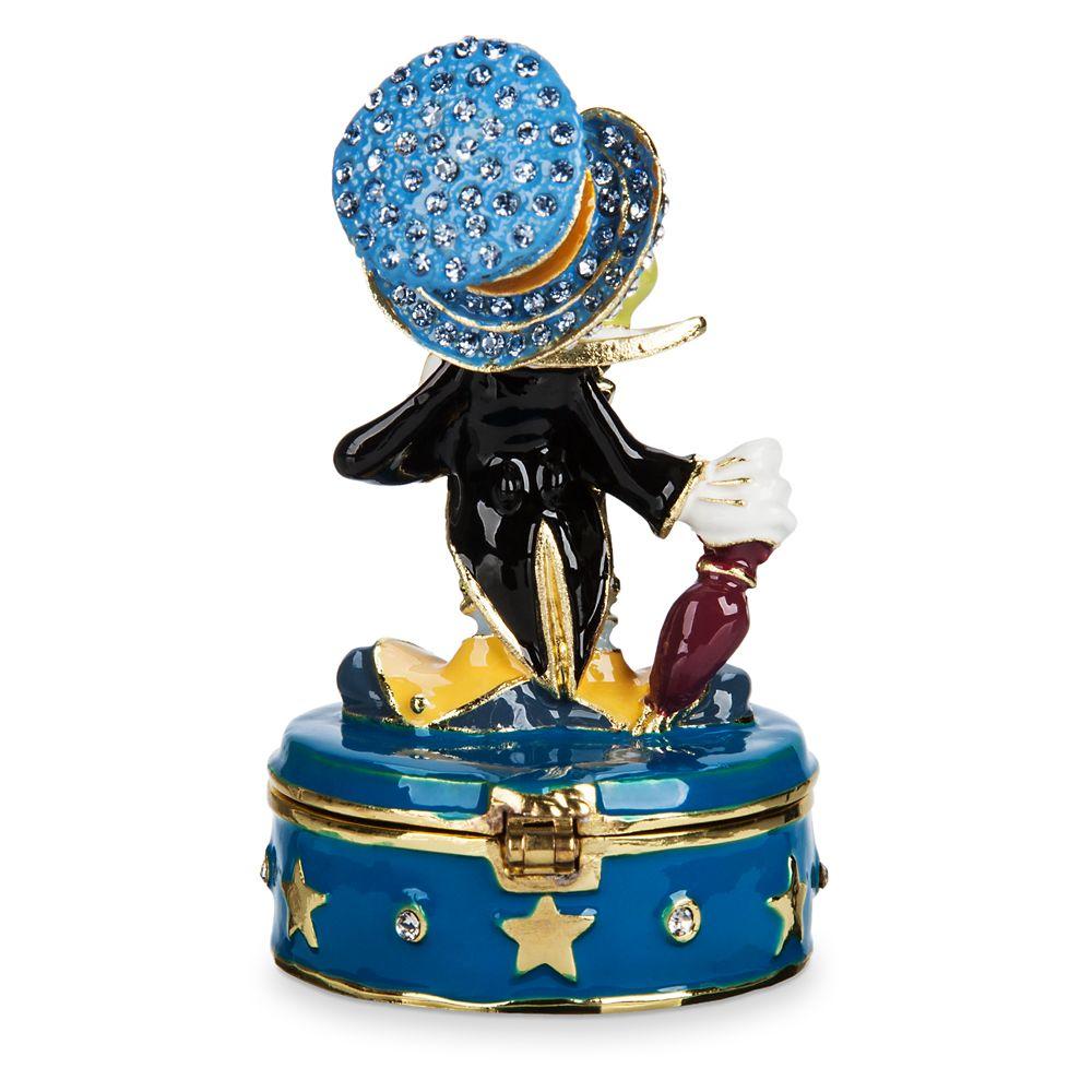 Jiminy Cricket Trinket Box by Arribas Brothers