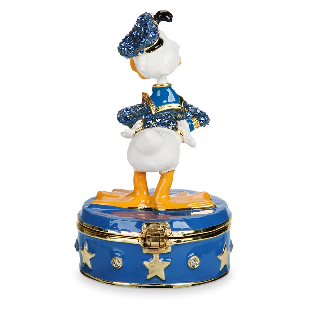 Donald Duck Trinket Box by Arribas Brothers